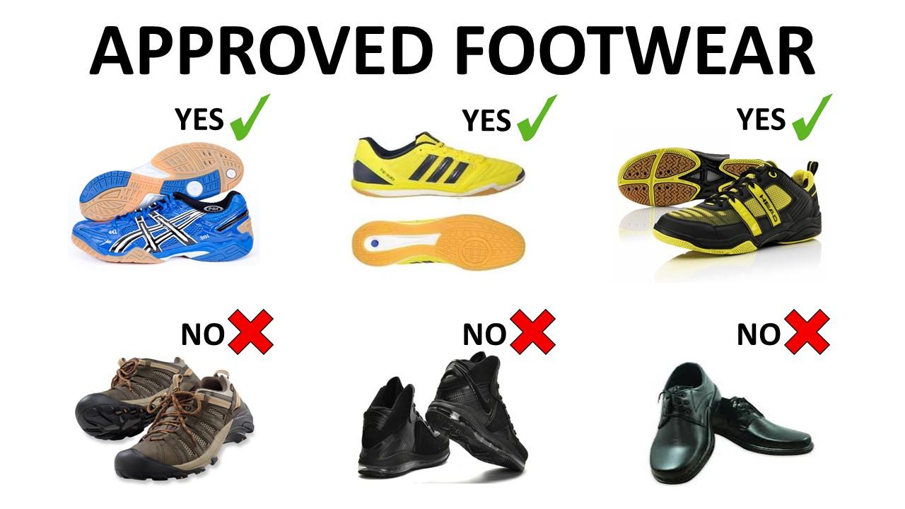 Approved Footwear